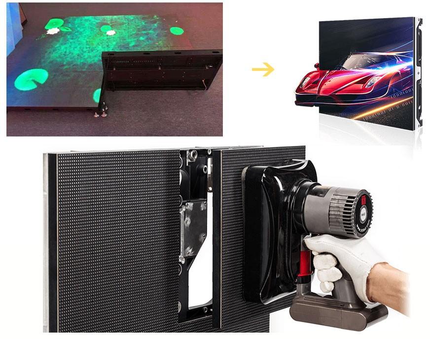 LED地板屏