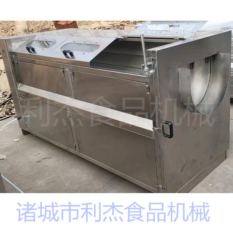 利杰LJ-1200 魔芋清洗去皮机土豆磨皮机清洗机生产厂家不锈钢磨皮机清洗设备示例图4