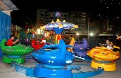 2020精品推荐儿童游乐梦幻飞碟项目 公园8臂梦幻飞碟大洋供应商示例图7
