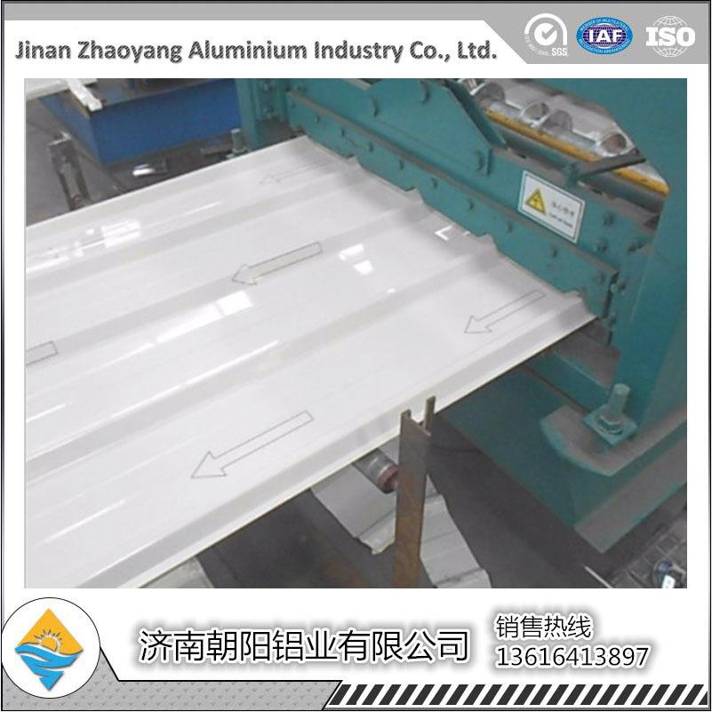 0.5mm材質1060朝陽瓦楞鋁板波紋瓦楞板報價750型波紋瓦楞板示例圖5