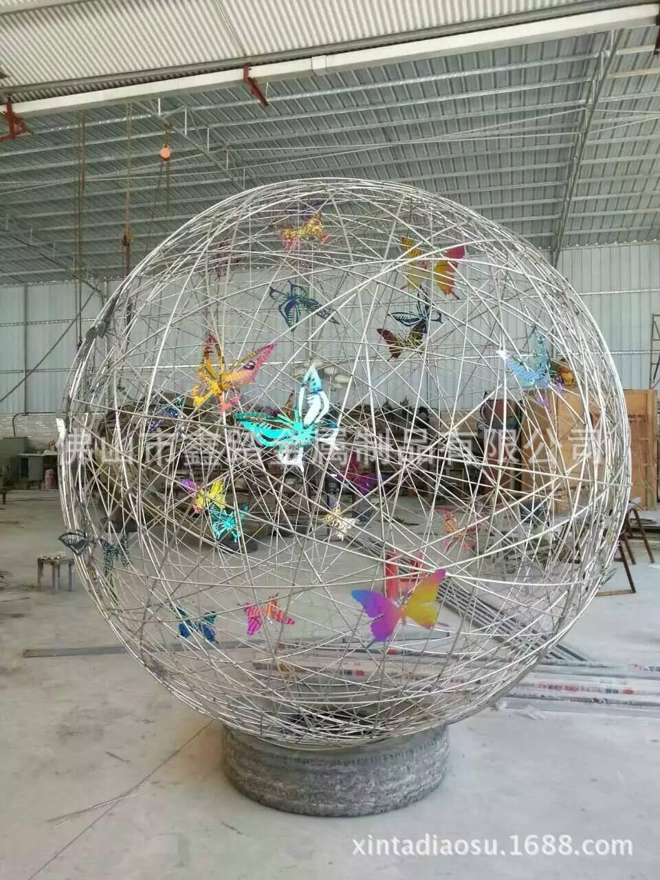 贵阳购物中心广场不锈钢雕塑专业生产厂家示例图6