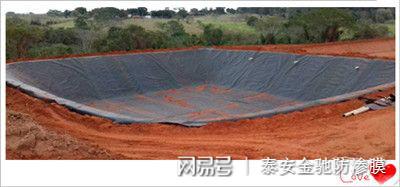 陕西宝鸡垃圾填埋场用高密度聚乙烯HDPE0.75mm土工膜价格示例图5