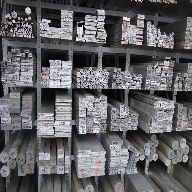 1060纯铝排 1070导电铝方 纯铝棒 铝角 厂家批发价格示例图1