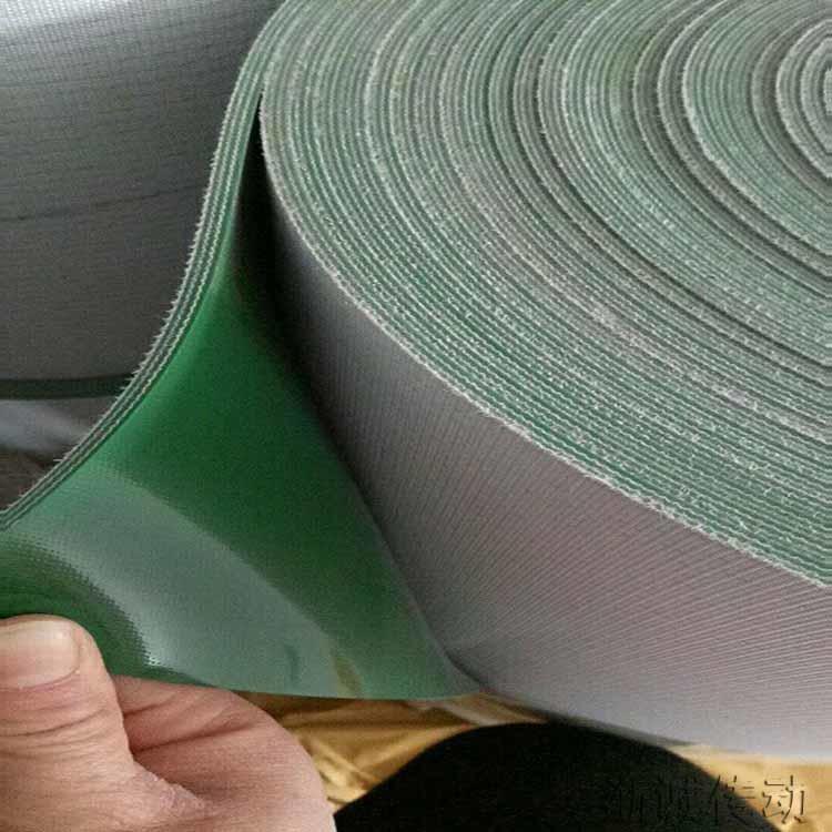浙誠 pvc工業皮帶 防滑pvc輸送帶 流水線環形輸送帶