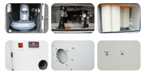 工业集尘器  JC-15布袋工业集尘器 大功率15Kw高效过滤除尘吸尘器示例图8