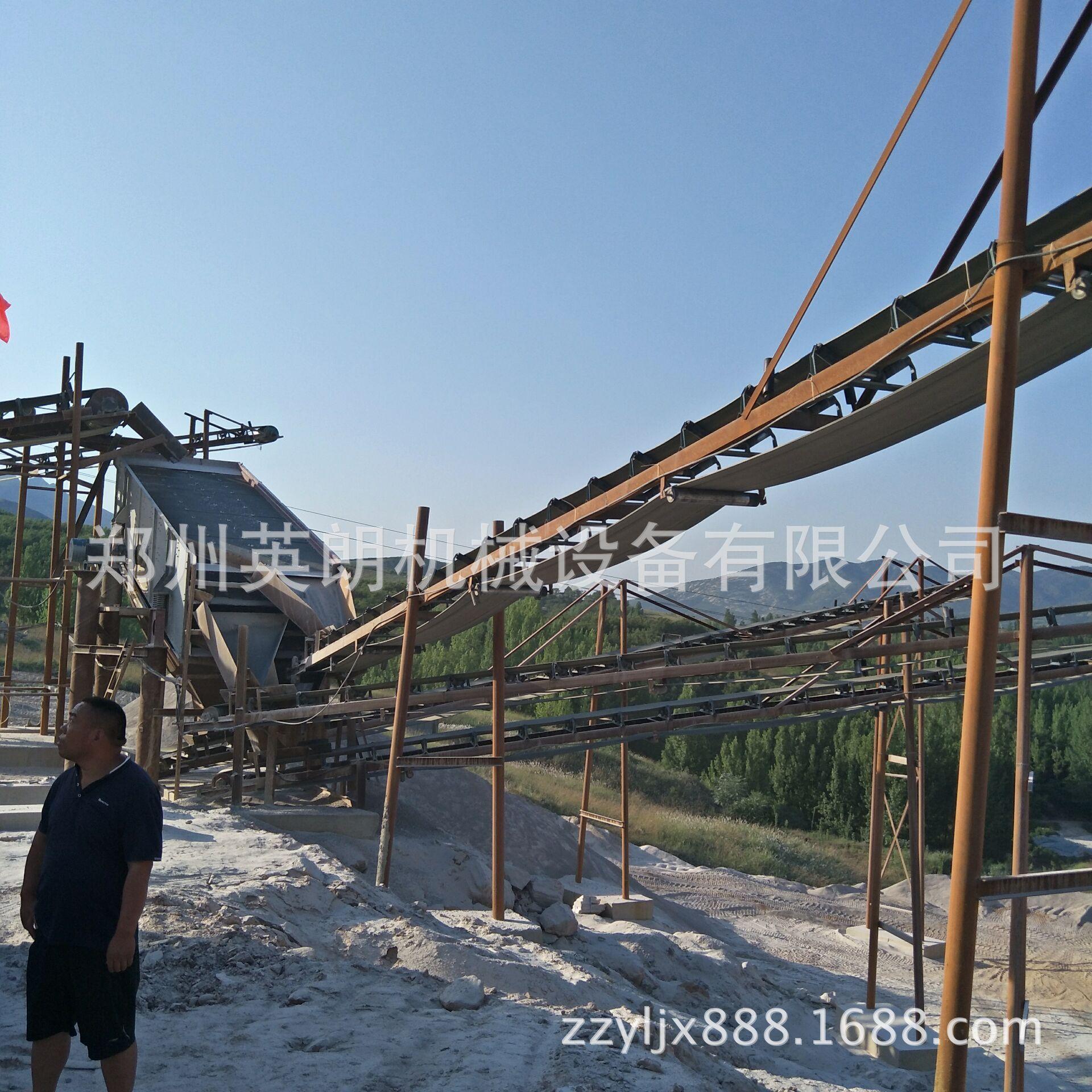 供应矿山石料开采破碎生产线 建筑青石子破碎线 鹅卵石制沙生产线示例图9