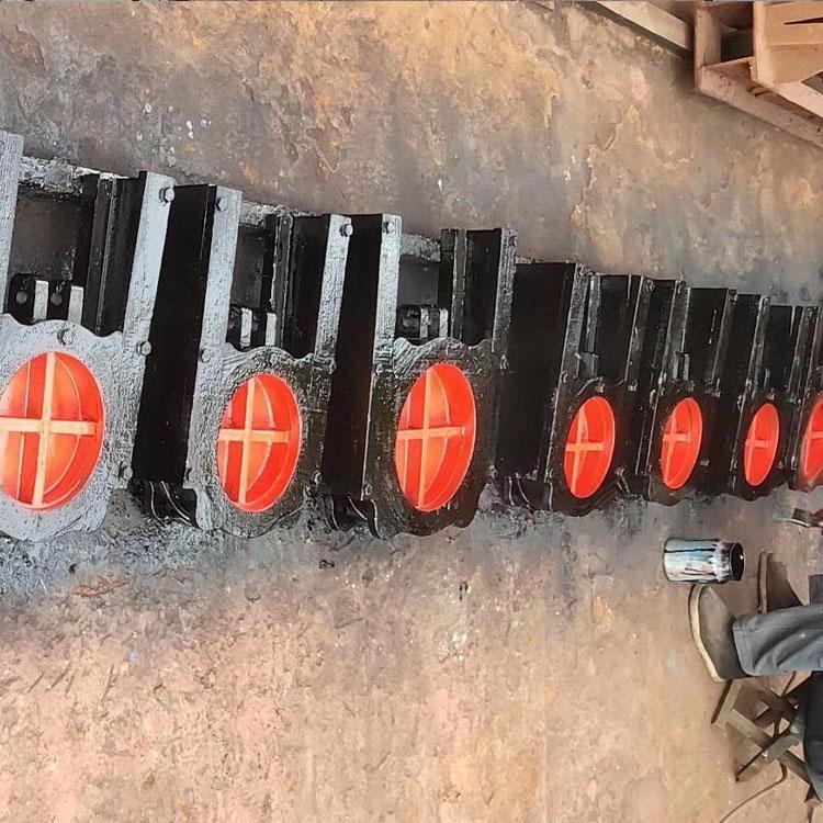 鼎禹鑄鐵方閘門 廠家直銷300×300cm鑄鐵方閘門 手電兩用水渠閘門 平面方形閘門