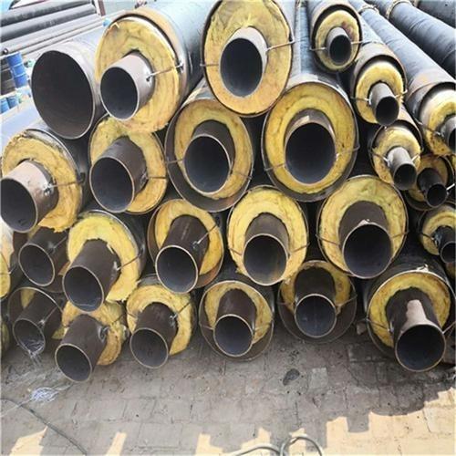 供應   鋼套鋼保溫鋼管      預制直埋保溫鋼管         高密度聚氨酯發泡保溫焊管