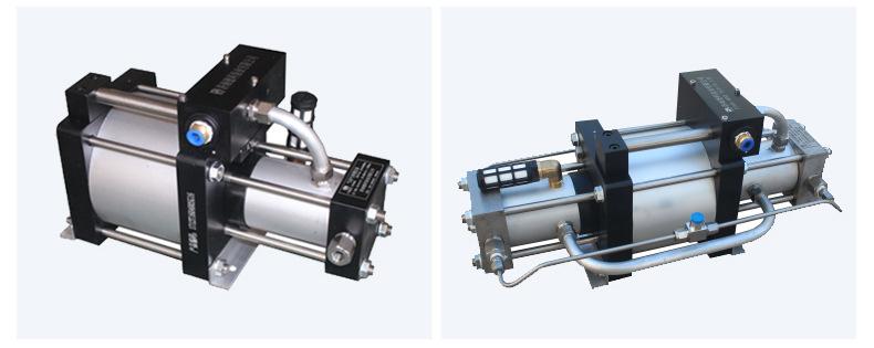 现货供应气体增压泵增压快 工业小型压缩空气气动增压泵 质优价廉示例图13