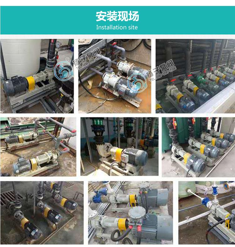 无泄漏防爆自吸泵制造商 ZCQ65-50-145自吸式不锈钢耐腐蚀磁力泵示例图14