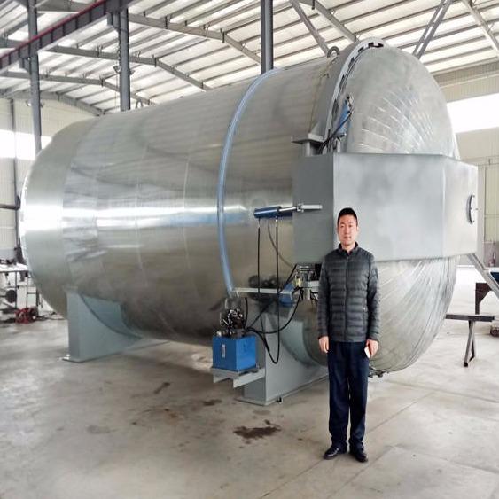 廠家直銷魯貫通大型蒸汽硫化罐 4080應用于防腐襯膠行業