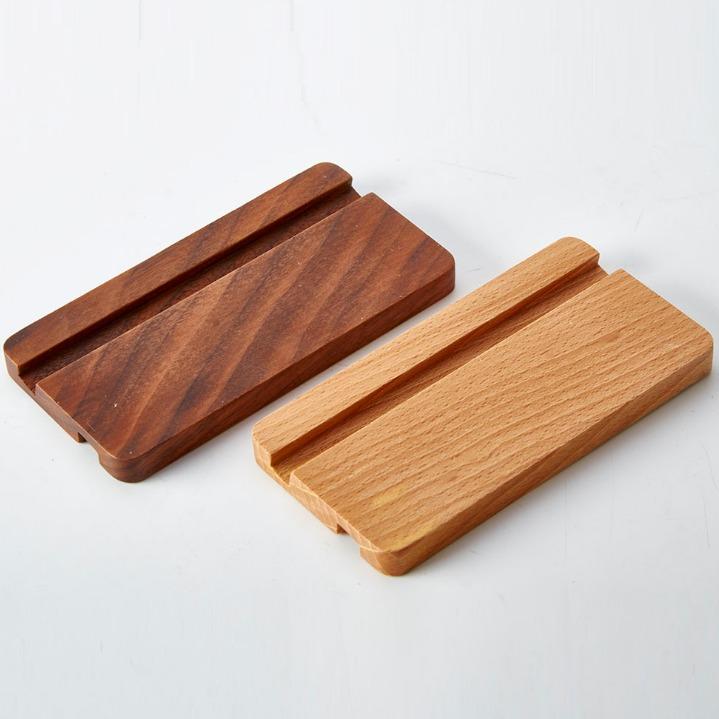 通用懒人木质手机支架 桌面床【头平板电脑ipad底座创意手原来机支架生日礼物包邮