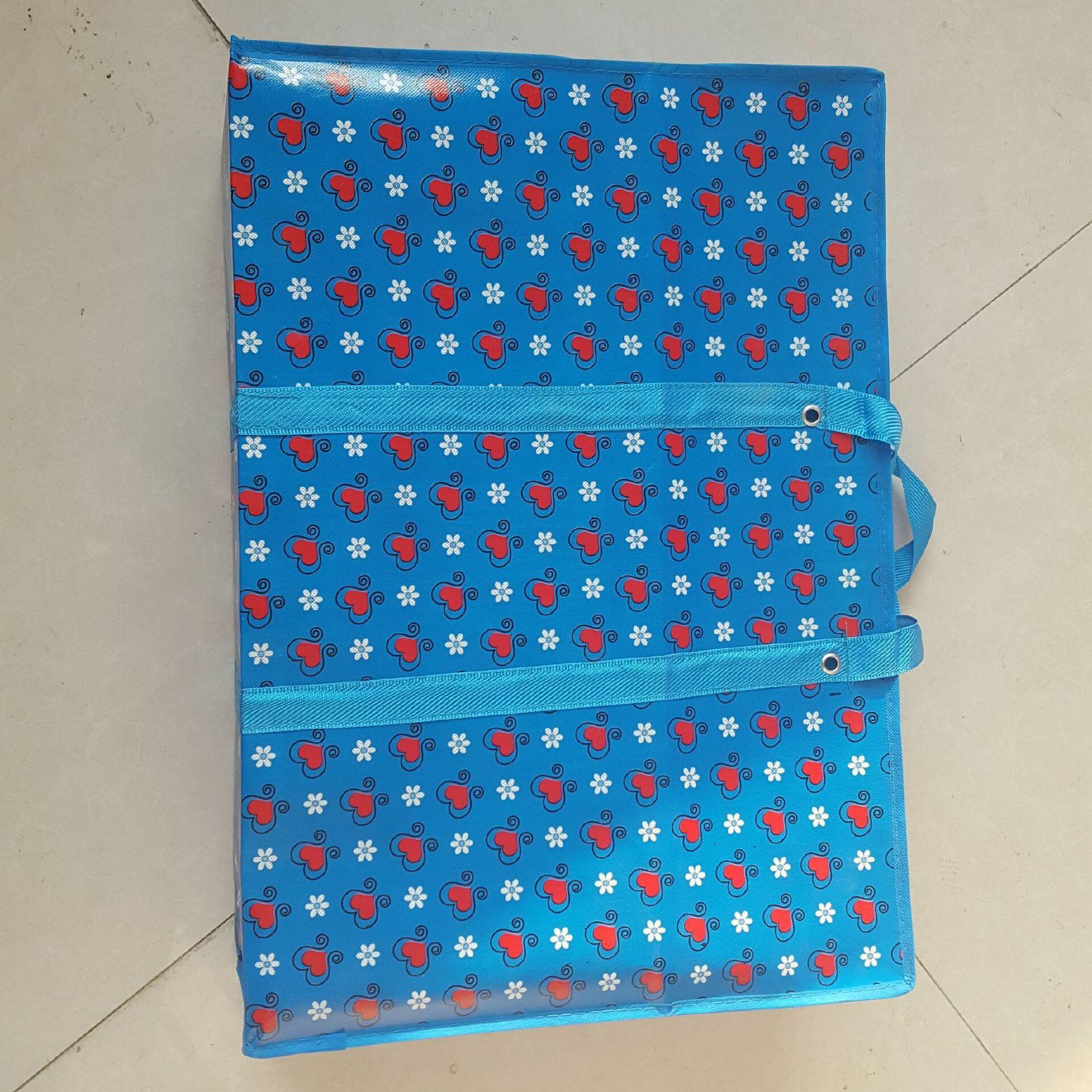 塑料薄膜彩印_【批发覆膜防水80大号加厚编织袋卡通搬家打包PP彩印塑料蛇皮