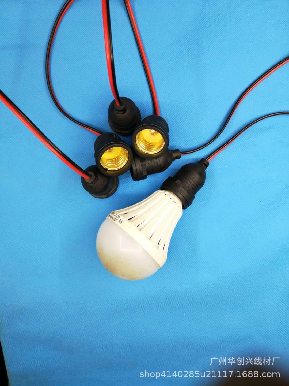 电源适配器厂家直销电子线灯串线线材户外防水灯串线护套线材加工示例图5