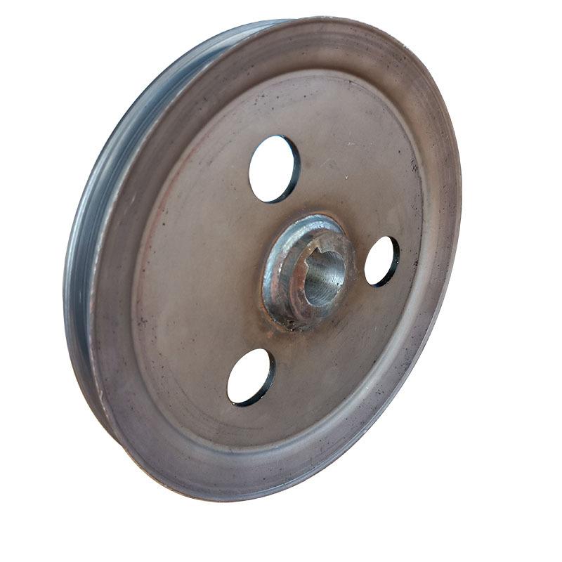 厂家直销优质单槽皮带轮 V型 劈开旋压皮带轮可加工定制示例图1