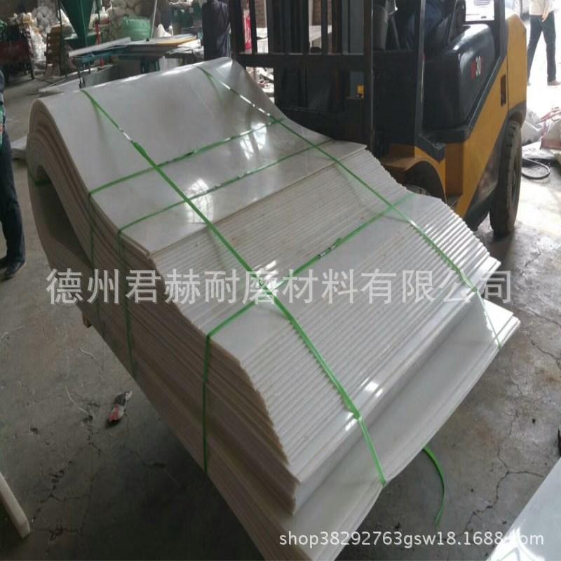 泥头车自卸车白塑料板车厢滑板后八轮工程翻斗车渣土车聚乙烯8mm示例图14