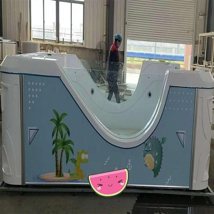 亞克力寶寶戲水池 兒童滑梯泳池設備 嬰兒游泳池