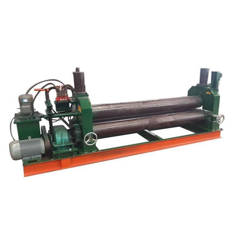 專業生產全自動卷板機 機械 液壓 三輥不銹鋼卷筒機侑軒YX-005