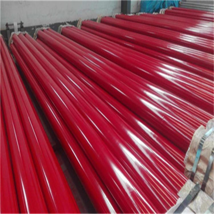 龙都供应 内外涂塑钢管 电力涂塑管 外镀锌内外涂塑钢管