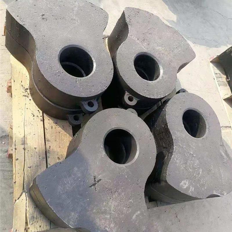 錘式破碎機錘頭高鉻合金錘頭制砂機耐磨錘頭粉碎機配件高錳鋼