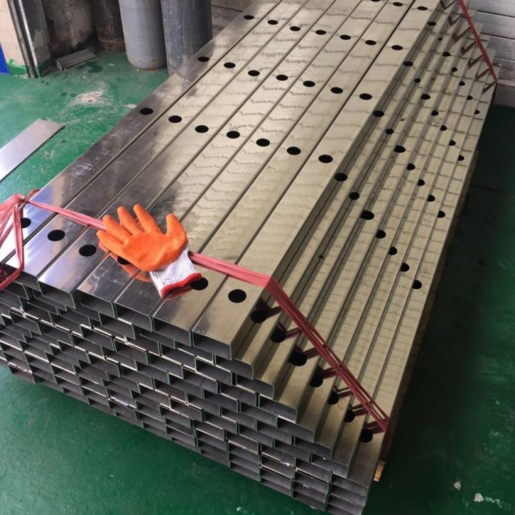 机械设备用  304不锈钢方管40*60*3.0厚壁拉丝 耐腐蚀矩形管示例图4
