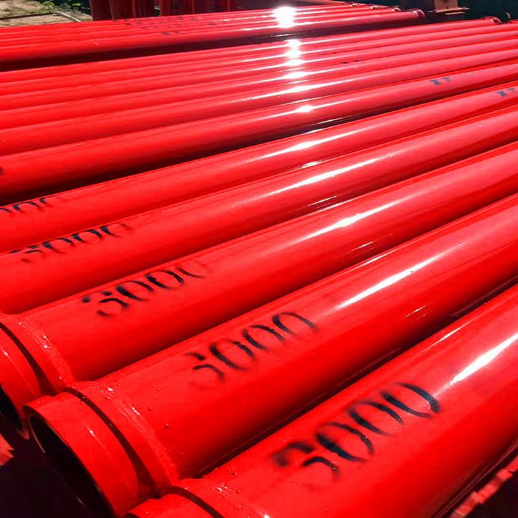沧州双层泵管厂家引荐 3米双层泵管 55mn双层耐磨泵管示例图1