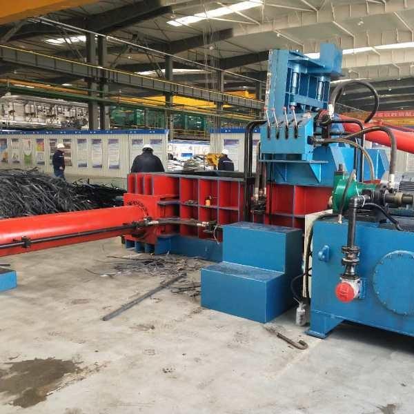 冶金液壓廢鋁型材打包機Y81-250冶金液壓