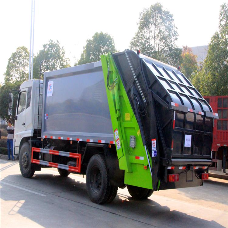國六5方8方掛桶垃圾車 曲靖垃圾壓縮車報價 環衛垃圾回收車 廠家直銷  可分期購買的垃圾清運車