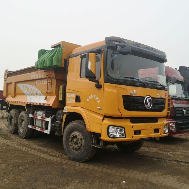 處理二手后八輪渣土運輸自卸貨車 手續齊全 U形斗5米8工程自卸車