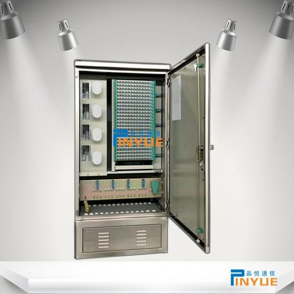 室外288芯光交箱安装介绍