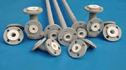 钢衬四氟管道|厂家直销钢衬四氟管道|钢衬四氟模压管道示例图2