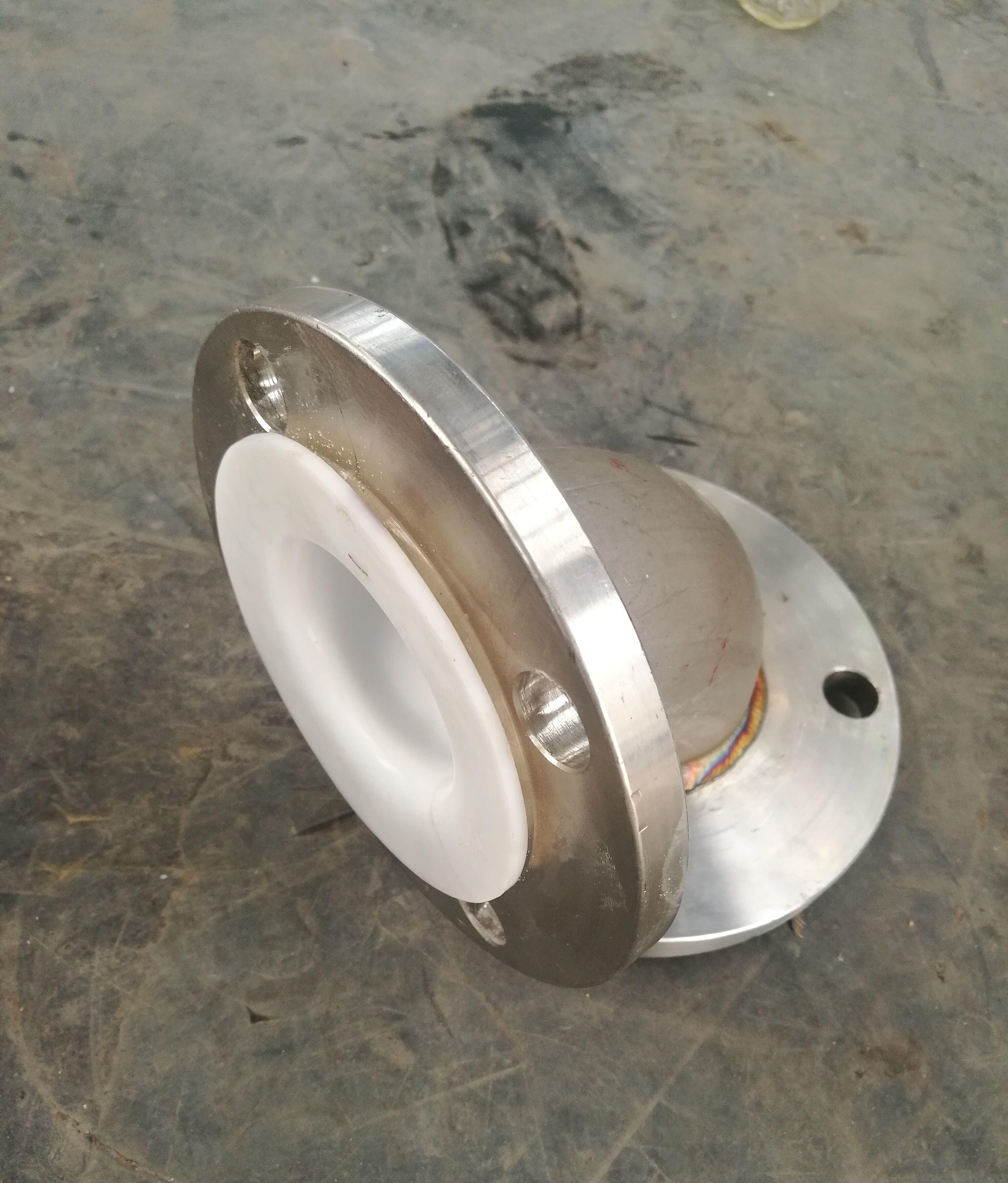 钢衬四氟管道|厂家直销钢衬四氟管道|钢衬四氟模压管道示例图1