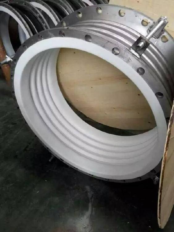 补偿器厂家供应 钢衬四氟补偿器 不锈钢膨胀节补偿器示例图2