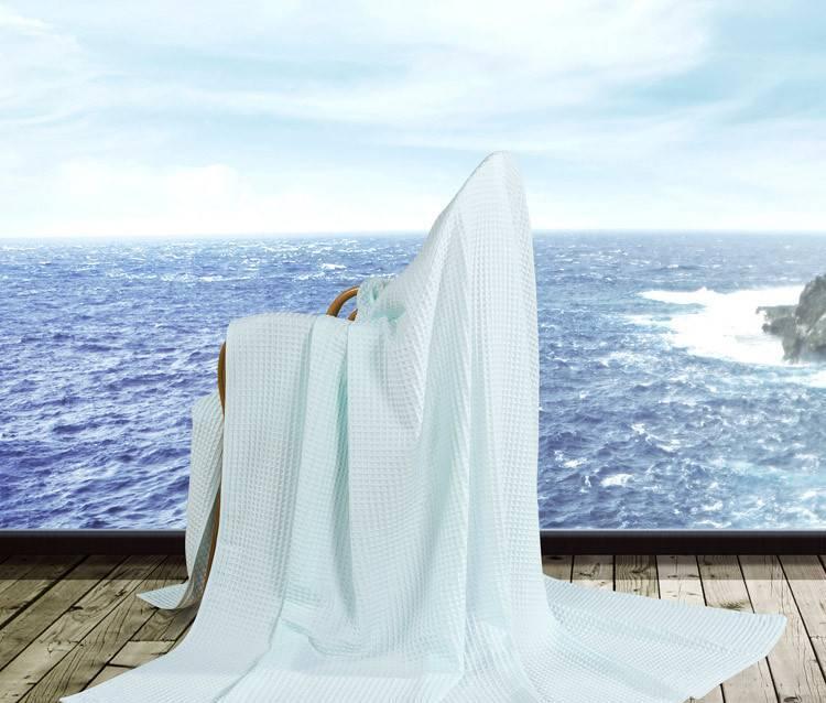 艺特佳家纺冰淇淋纹双人单人加厚全棉毛巾毯空调毯夏被毛毯特价示例图55