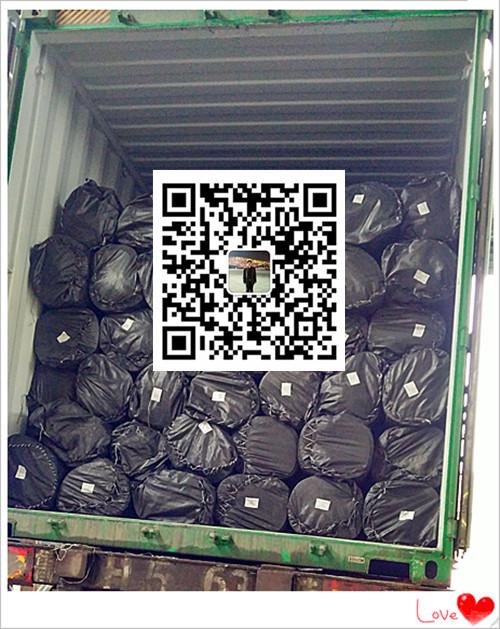海南沼气池防渗膜生产厂家供应商直销美标黑色光面1.5mmhdpe防渗膜示例图9