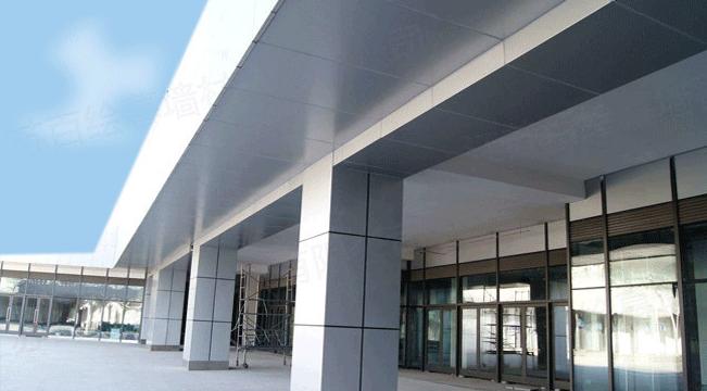 学校宿舍楼外墙铝单板示例图2