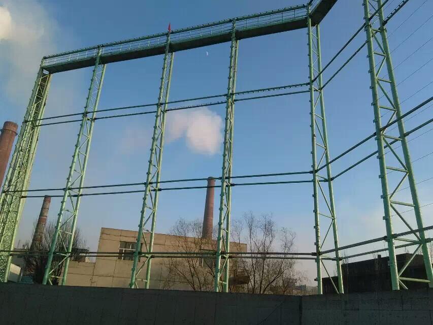 电厂柔性防风抑尘网,热电厂储煤料堆四周围墙用的防风抑尘网示例图6