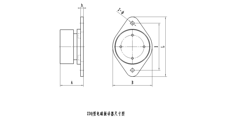 安德专业生产电磁振动器,ZDQ-50电磁振动器 高品质电磁振动器 节能电磁震动器示例图2
