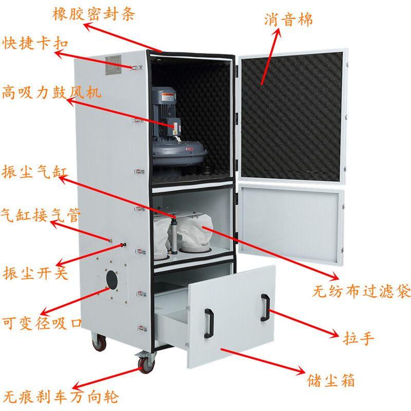 磨床粉尘吸尘器 车间机械设备工业集尘器 烟雾除尘器示例图31