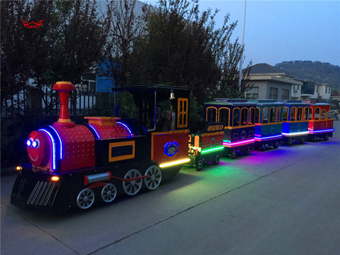 人生理想的   大象轨道火车儿童游乐设备 厂家直销 郑州大洋大象火车供应商买游乐设备来大洋生意喜洋洋示例图7