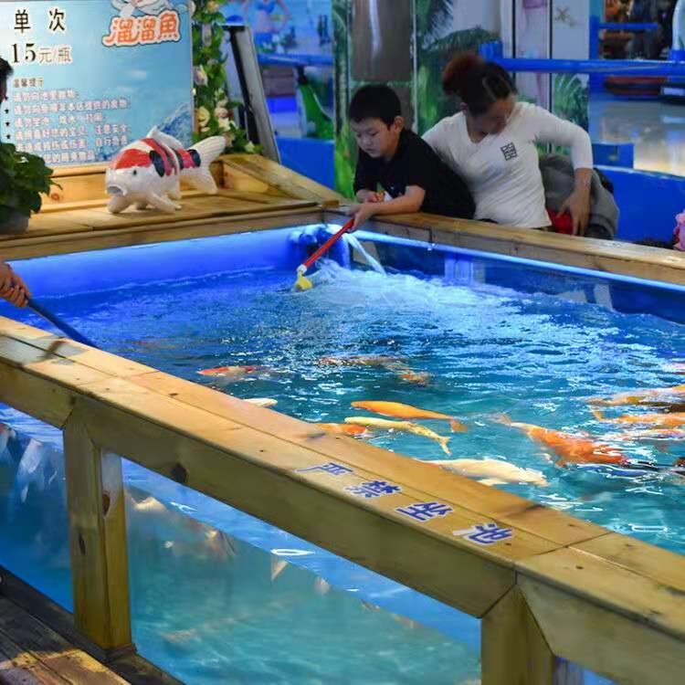 新型游乐项目吃奶鱼池,吃奶鱼,奶嘴鱼游乐设备,吸奶鱼娱乐项目,互动型娱乐项目吃奶鱼,2020参与性互动型娱乐项目示例图4