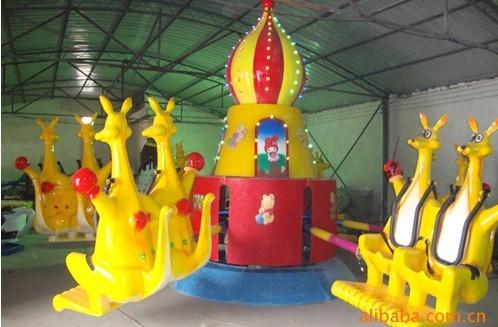 2013-2020都流行 新款 游乐 欢乐袋鼠 郑州大洋好玩的 欢乐袋鼠项目 袋鼠跳 厂家游乐设施示例图11