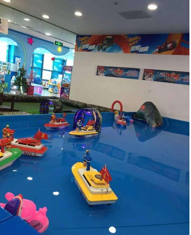 方向盘遥控船水上游乐设备,厂家直销,儿童方向盘遥控船游乐设施示例图17