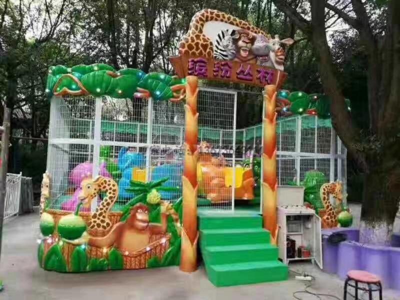 郑州大洋儿童游乐设备欢乐喷球车 新赚钱神器轨道欢乐喷球车厂家造型分类齐全保您满意示例图12