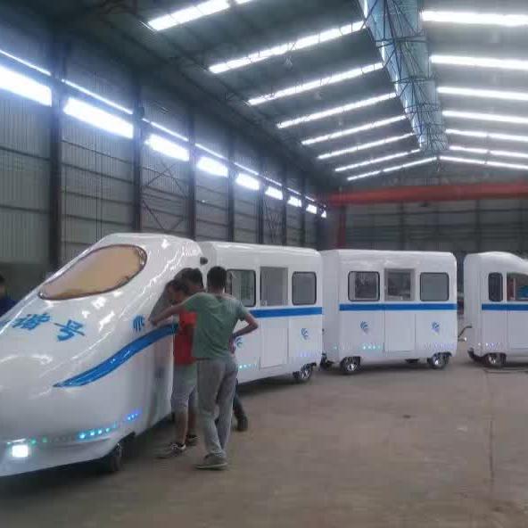 无轨和谐号观光小火车 室内儿童游乐场游乐设备和谐号观光火车示例图11
