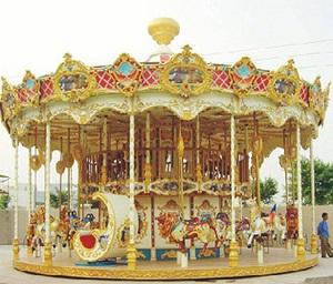 广场儿童游乐设备16座旋转木马 公园经典24座豪华转马大洋供应商示例图6