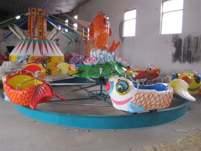 广场鲤鱼跳龙门儿童游乐设备 现货供应 郑州大洋鲤鱼跳龙门厂家示例图6