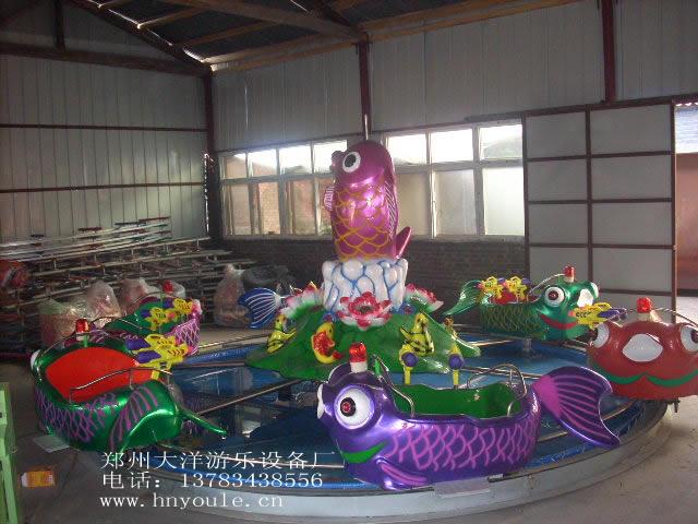 广场鲤鱼跳龙门儿童游乐设备 现货供应 郑州大洋鲤鱼跳龙门厂家示例图7