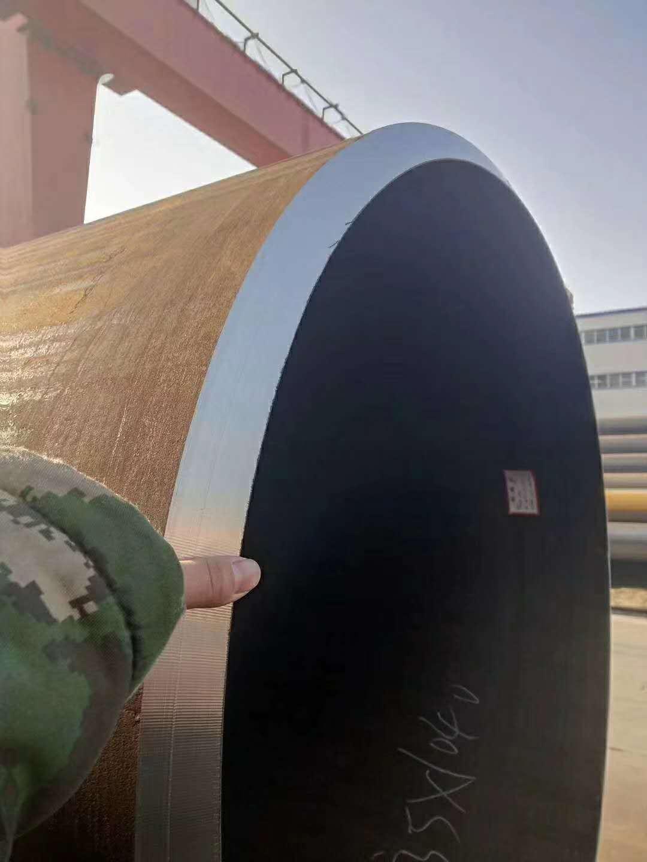 实体厂家 专业生产14年厚壁螺旋钢管厂家示例图1