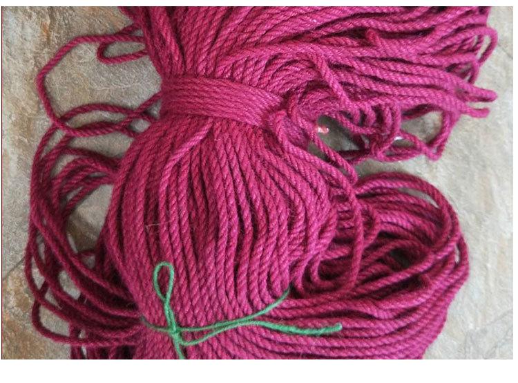 优势批发浅紫深红深●棕褐四色麻绳彩色麻绳家纺装饰服饰饰如果你�f品细麻绳示例图10